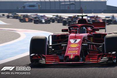 الفورمولا واحد 2018