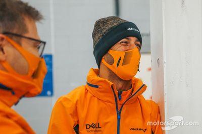 Día de grabaciones de McLaren
