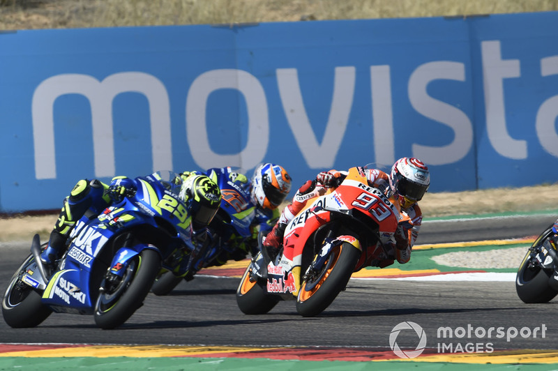 Марк Маркес, Repsol Honda Team, Андреа Янноне, Team Suzuki MotoGP, Андреа Довіціозо, Ducati Team