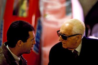 Enzo Ferrari avec Figlio Piero