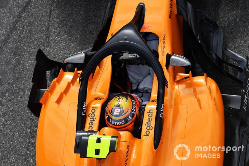 18 місце — Стоффель Вандорн, McLaren — 8