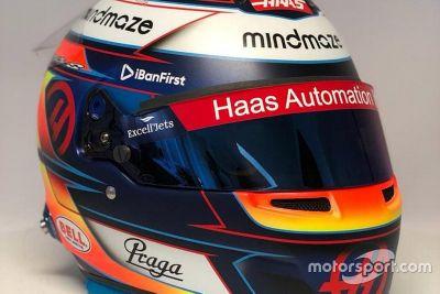 Romain Grosjean sisakja