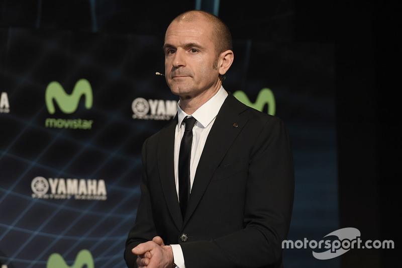 Massimo Meregalli, director del equipo Yamaha Factory Racing