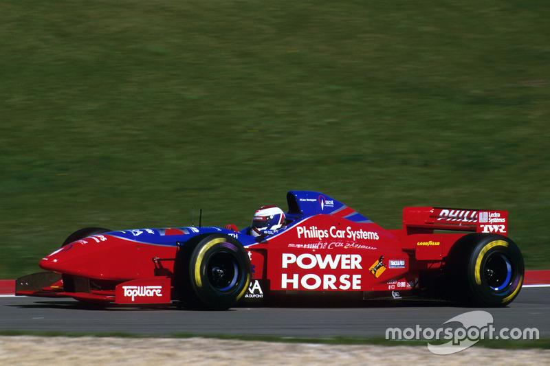 1996 – Формула 1, Footwork Hart, 16 місце