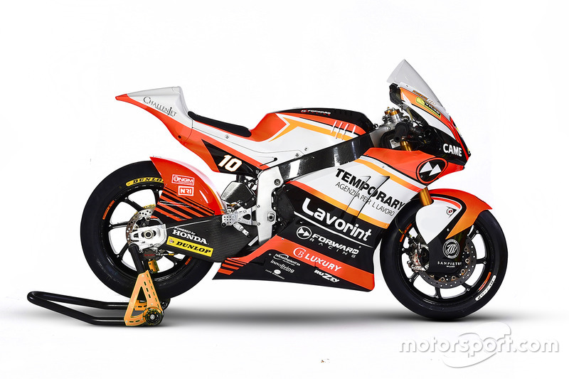 Moto de Luca Marini, Forward Racing