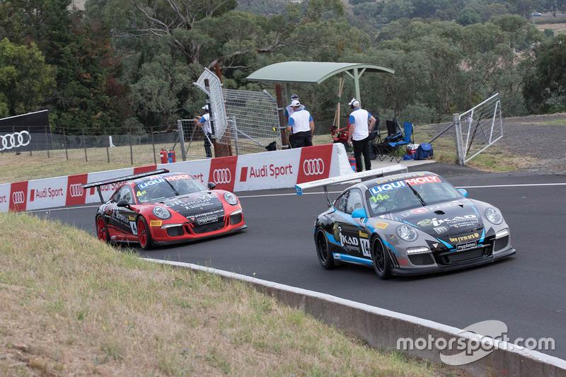 #14 IKAD Racing, Porsche 997 Cup: Peter Major, Jordan Love, Nicholas McBride