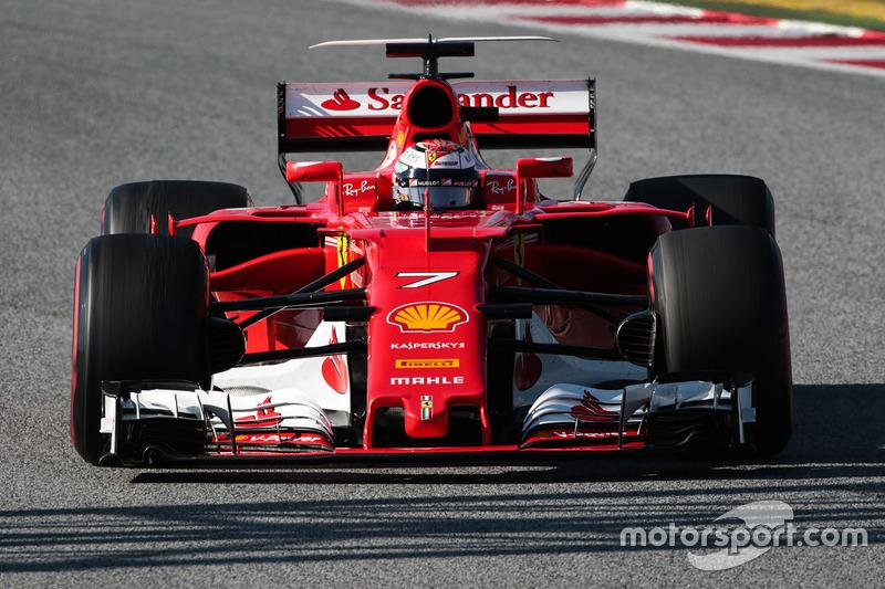 Кими Райкконен, Ferrari (номер 7)
