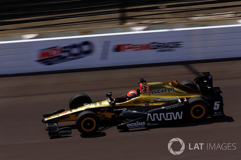 17. James Hinchcliffe, Schmidt Peterson Motorsports, Honda