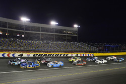 Christopher Bell, Kyle Busch Motorsports, Toyota; Chase Briscoe, Brad Keselowski Racing, Ford