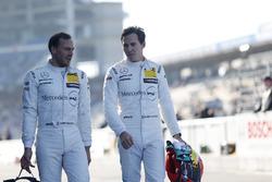 Gary Paffett, Mercedes-AMG Team HWA, Mercedes-AMG C63 DTM and Robert Wickens, Mercedes-AMG Team HWA,