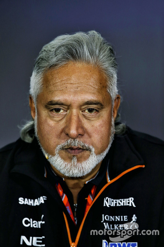 Власник Sahara Force India Formula One Team Віджей Маллья