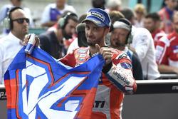Le vainqueur de la course, Andrea Dovizioso, Ducati Team