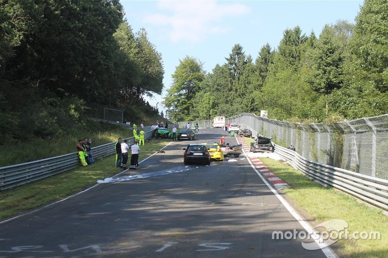 Аварія на Nordschleife