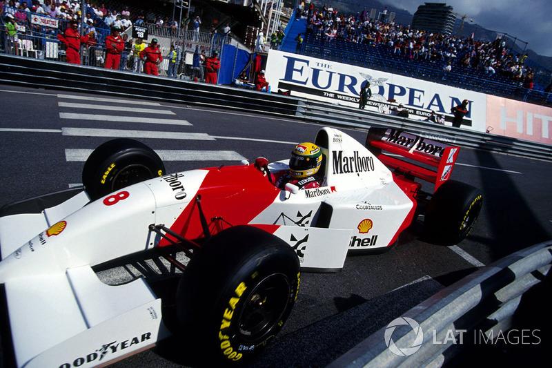 1993 Monaco: McLaren MP4/8