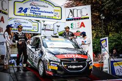 Il vincitore Marcello Razzini, Peugeot 208 R2B