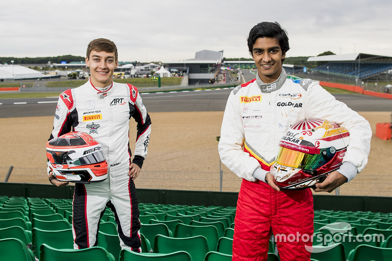 George Russell, ART Grand Prix, Raoul Hyman, Campos Racing