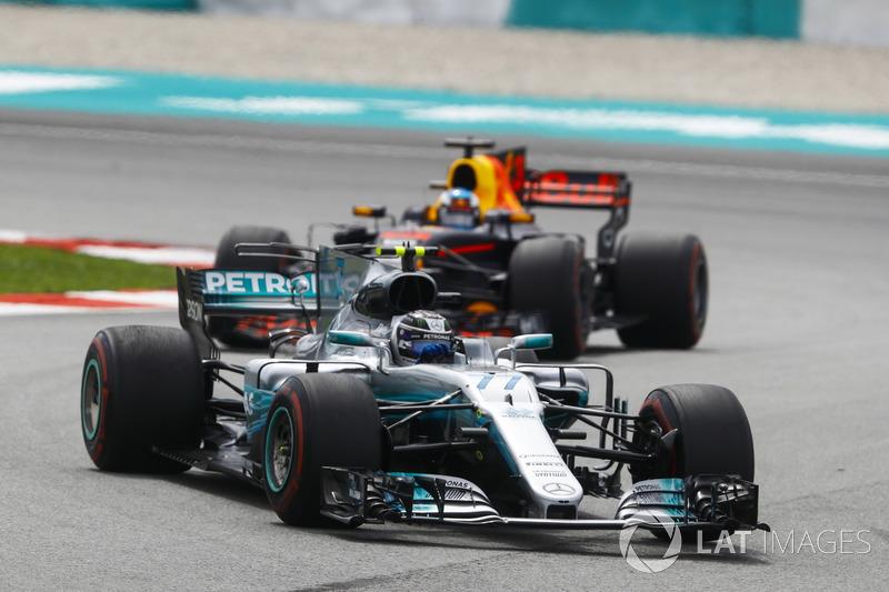 Валттері Боттас, Mercedes-Benz F1 W08 Даніель Ріккардо, Red Bull Racing RB13