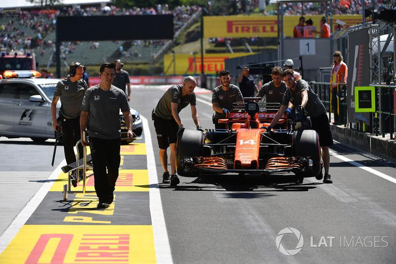 Auto von Fernando Alonso, McLaren MCL32