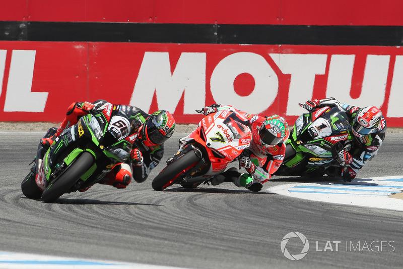 Том Сайкс, Kawasaki Racing, Чаз Девіс, Ducati Team, Джонатан Рей, Kawasaki Racing