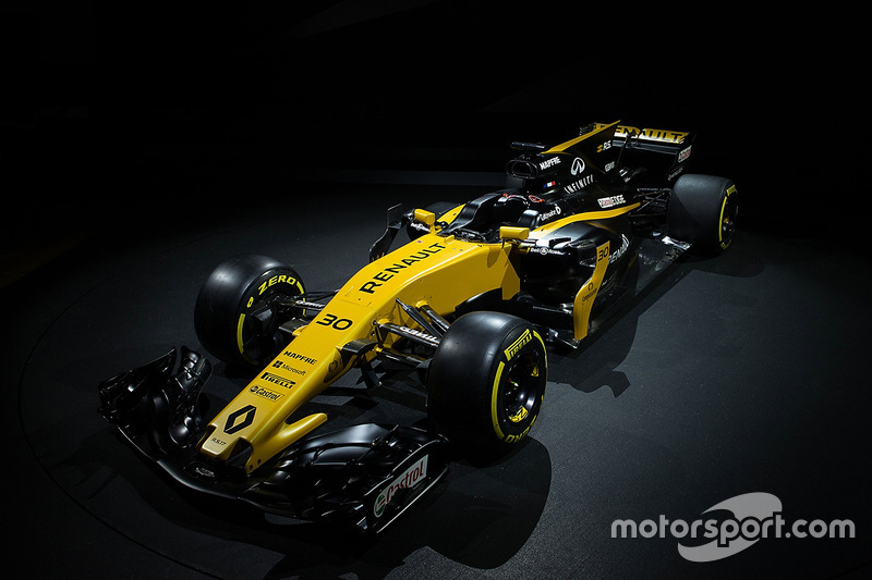 El Renault Sport F1 Team RS17