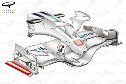 Honda RA108 2008 front wing and nose
