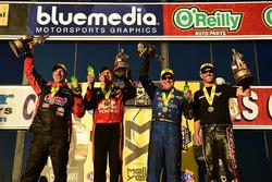 Winners: Pro Stock Bike Matt Smith, Pro Stock Greg Anderson, Funny Car Tommy Johnson Jr., Top Fuel Doug Kalitta