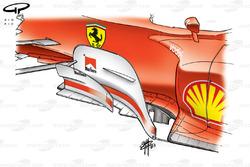 Ferrari F2003-GA (654) 2003 bargeboard detail