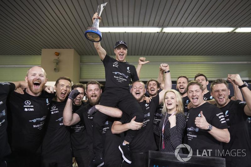 Valtteri Bottas - 1 (45º no ranking) - GP de Abu Dhabi de 2017.