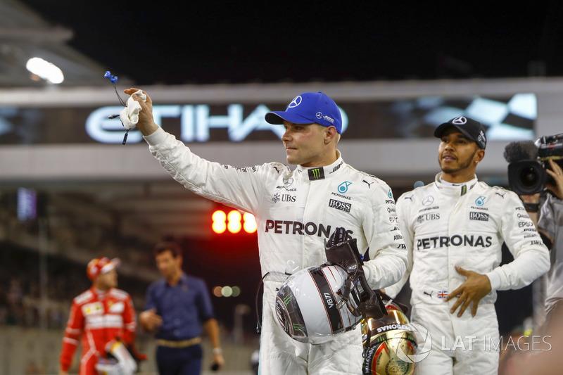 O finlandês cravou sua melhor volta em sua primeira tentativa no Q3. Na segunda, nem ele e nem Hamilton melhoraram seus tempos após erros.