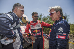Carlos Sainz, Peugeot Sport, Nasser Al-Attiyah, Toyota Gazoo Racing