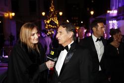Nelson Piquet met dochter Julia