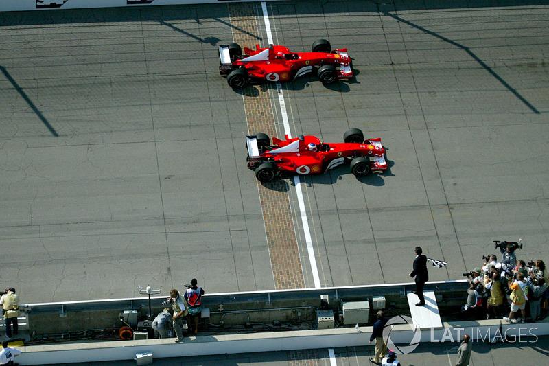 2002 - Indianapolis : Rubens Barrichello, Ferrari F2002
