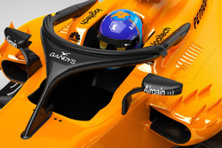 McLaren MCL33 halo with Gandys logo