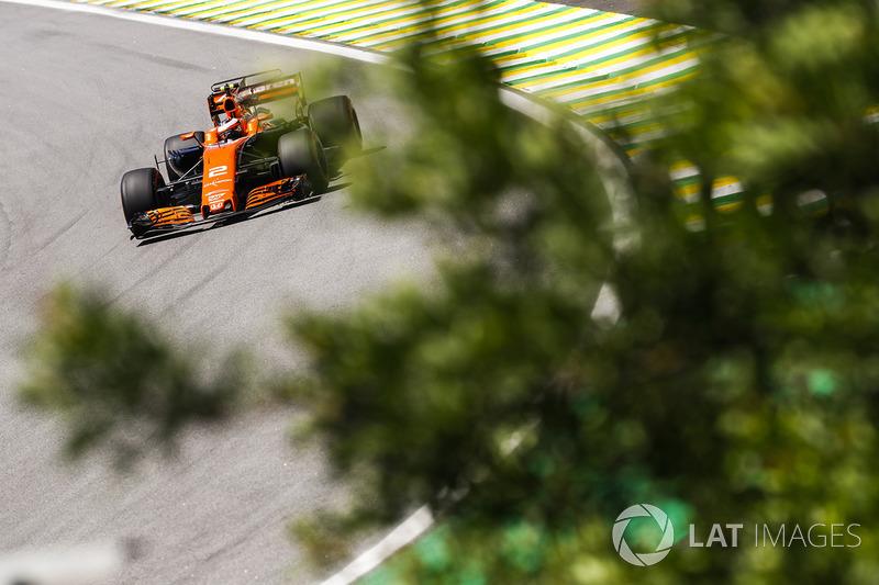 13. Stoffel Vandoorne, McLaren MCL32