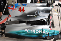 Mercedes-Benz F1 W08  bodywork detail