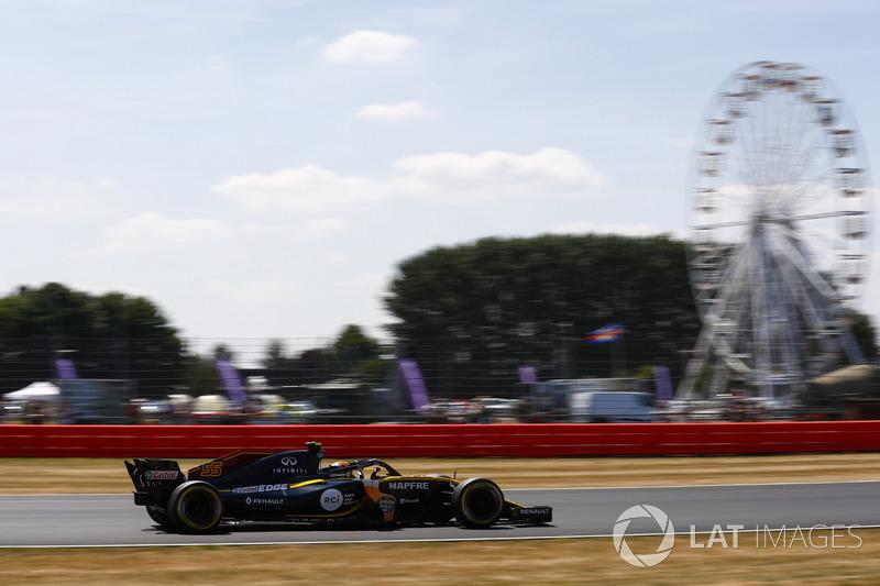 Ausfall: Carlos Sainz Jr., Renault Sport F1 Team R.S. 18