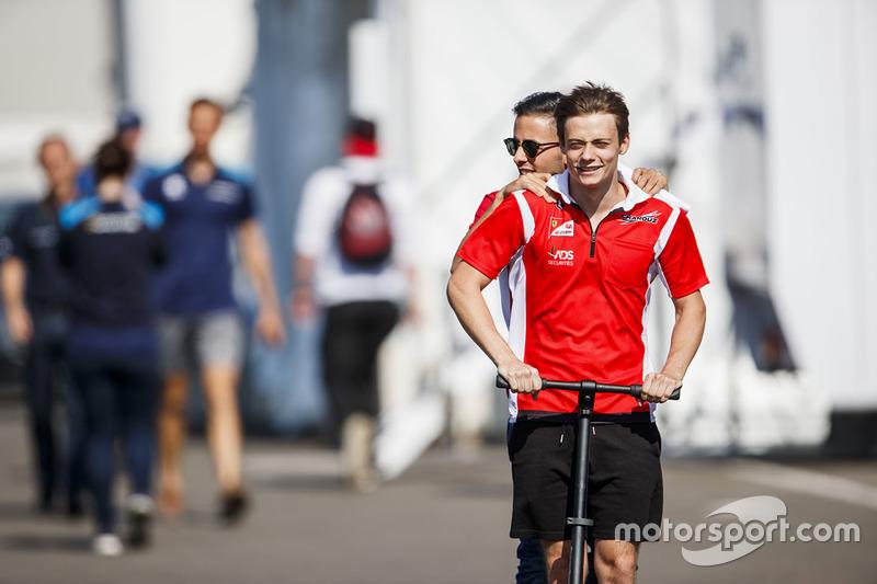 Louis Deletraz, Charouz Racing System, Antonio Fuoco, Charouz Racing System