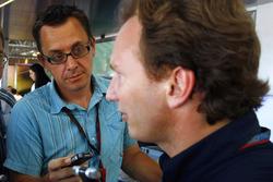 Jonathan Noble entrevista a Christian Horner, Team Principal, Red Bull Racing