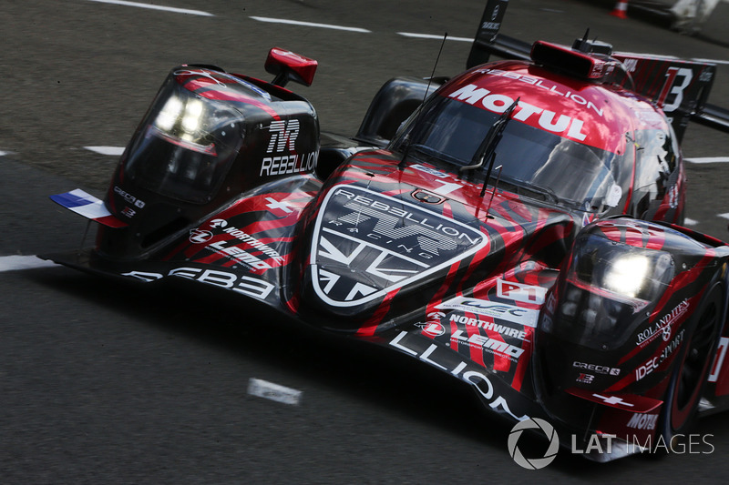 #1 Rebellion Racing Rebellion R-13: Andre Lotterer, Neel Jani, Bruno Senna