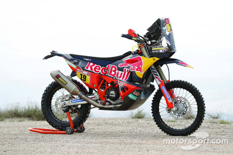 La moto de Antoine Meo, Red Bull KTM Factory Team