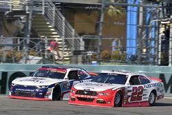Sam Hornish Jr., Team Penske Ford and William Byron, JR Motorsports Chevrolet