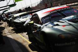 Aston Martin Racing Aston Martin Vantage in the pitlane