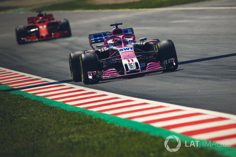 15: Sergio Perez, Force India VJM11, 1'19.098