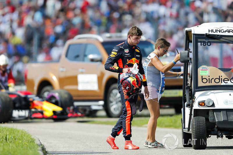 Max Verstappen, Red Bull Racing, tersingkir dari balapan