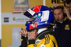 Jan Lammers tijdens de Jumbo Racedagen