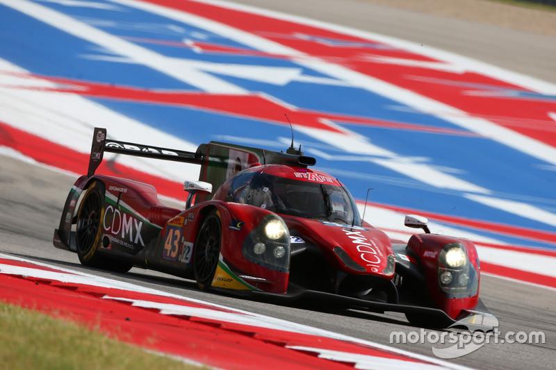 3. LMP2: #43 RGR Sport by Morand, Ligier JSP2 - Nissan: Ricardo Gonzalez, Filipe Albuquerque, Bruno Senna