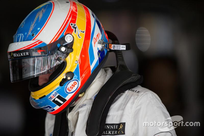 Fernando Alonso-Mclaren Honda F1 team
