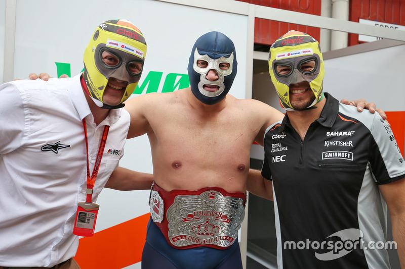 #10: Will Buxton, Blue Demon Jr. und Sergio Perez