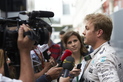Нико Росберг, Mercedes AMG F1 общается со СМИ