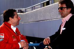 Luca Di Montezemolo and Jean Todt, Ferrari